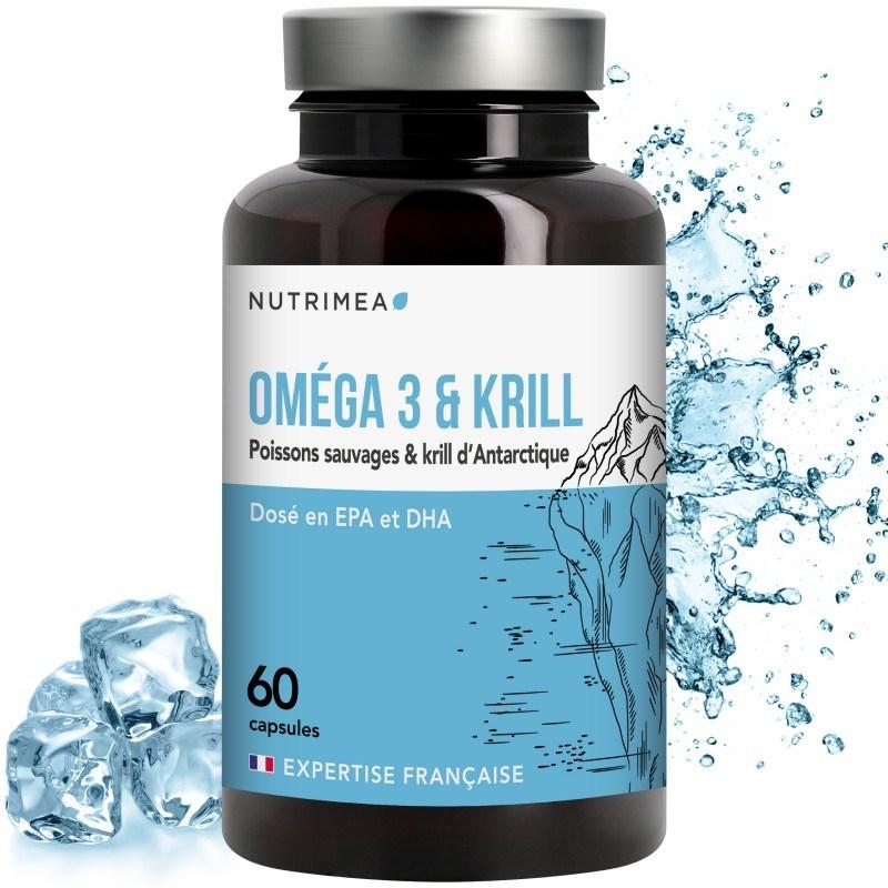 Effets bénéfiques du krill et des oméga 3 en complément alimentaire