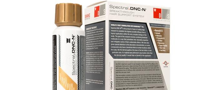 La lotion anti-chute de cheveux Spectral DNC et son efficacité